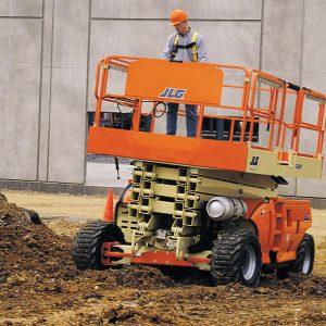 Diesel 4x4 schaarlift