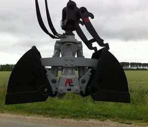 Hydraulische grondgrijper