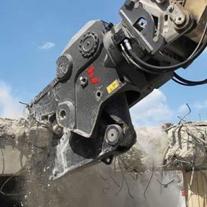 Hydraulische vergruizer roterend